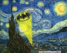 The God Damn Batman Gogh