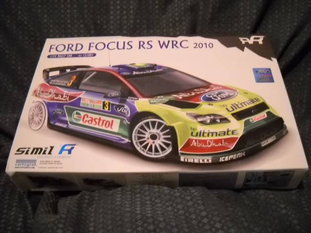 Valentino Rossi Rally show car  (Ford Focus WRC 2010) Aclasser2002