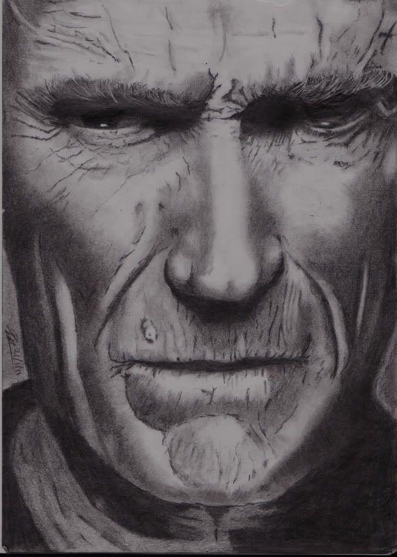 Denny's art. Clint