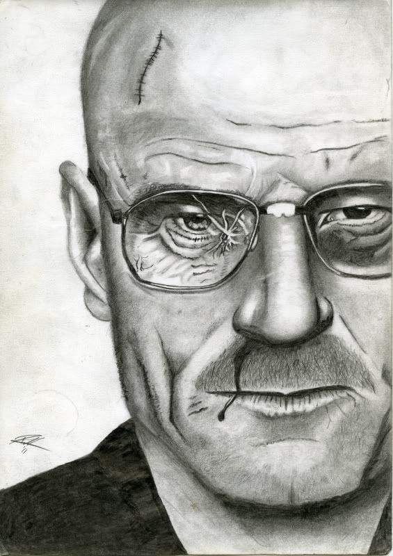 Denny's art. WalterWhite