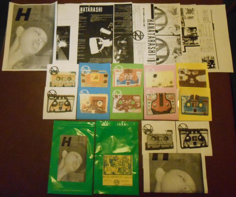 HANATARASHI We Are Hardcore! ltd reissue 6xCD-R + DVD-R expanded & improved Hanasetallcontents_zps85aeb74d