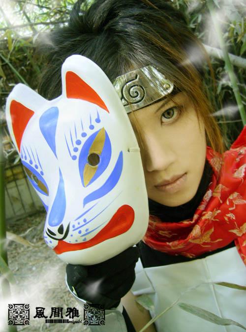 Cosplays de Naruto Anbu3