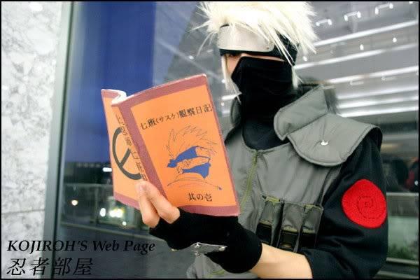Cosplays de Naruto Kakashicos