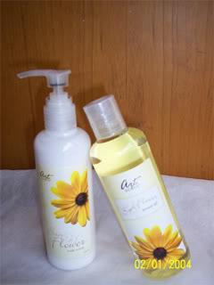 """ArtShop Menjual parfum asli murah, body lotion dan shower gel """"artscent"""" SunFlower"""