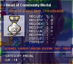 Maple All Medal Guide HeadofComunitymedal