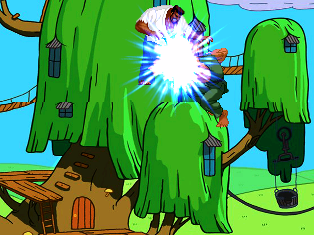 Adventure time TreeHouse Mugen108