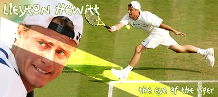 Lleyton Hewitt, the eye of the tiger