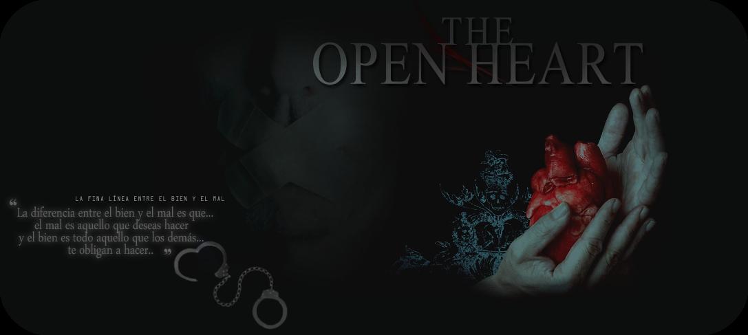 THE OPEN HEART