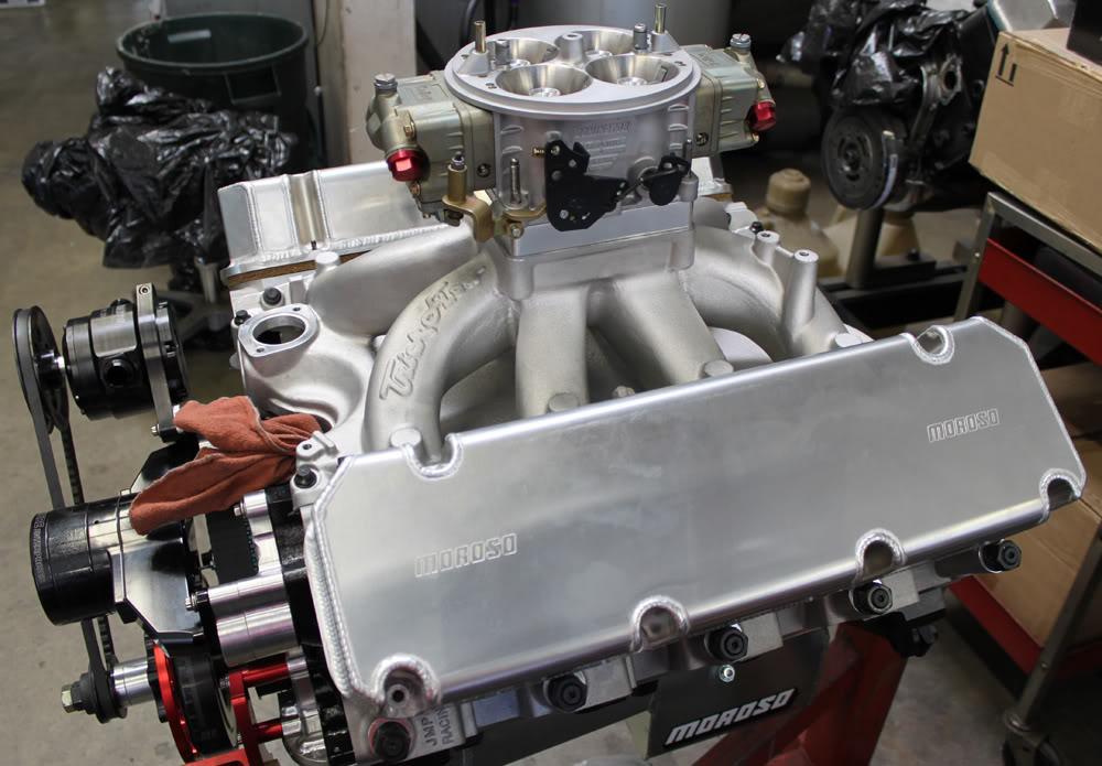 572 CID - Stock Kaase P51 heads  EngineOCT5web