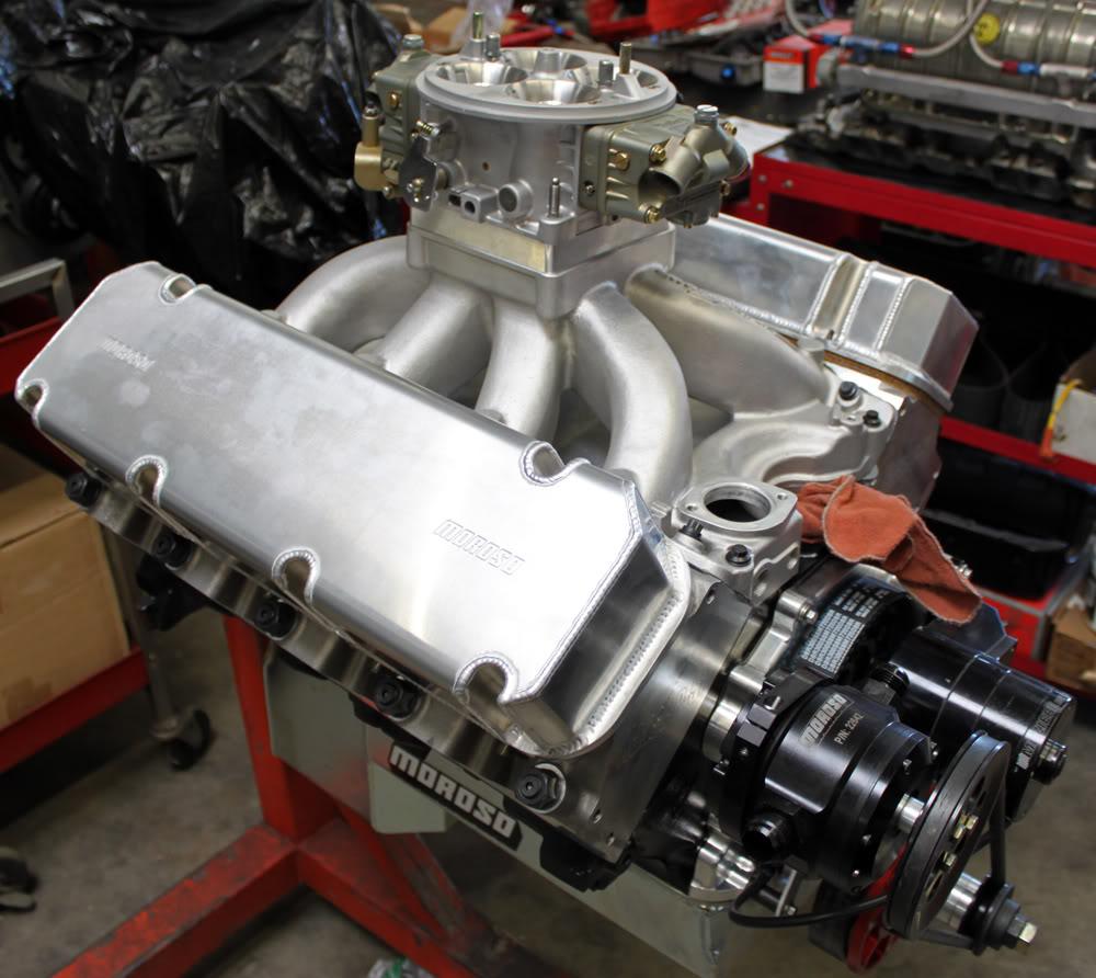 572 CID - Stock Kaase P51 heads  EngineOct2web
