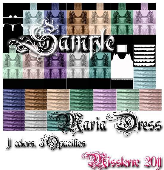 MISSTerre's Collection Shop  MariaDressPack