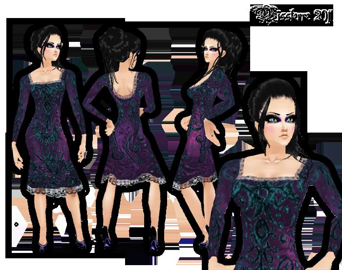 MISSTerre's Collection Shop  PandoraDressV2