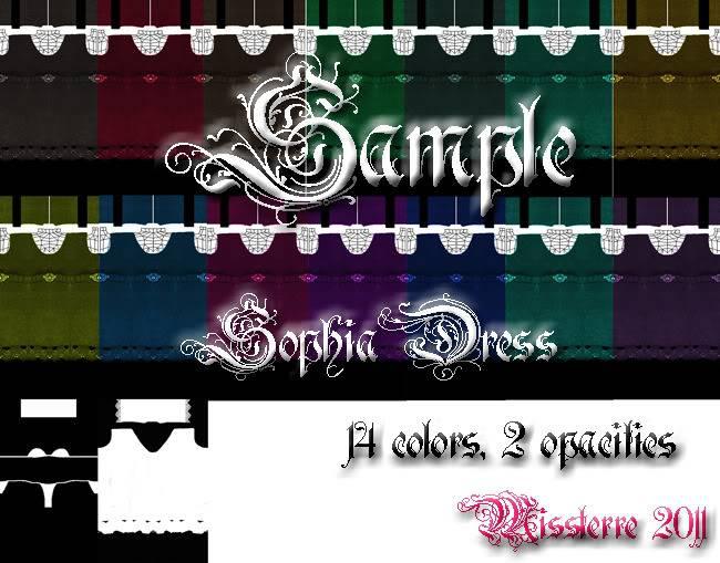 MISSTerre's Collection Shop  SophiaDressPack