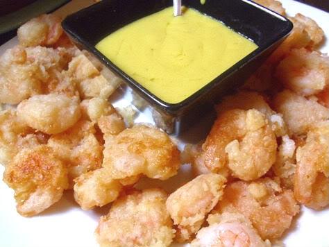 Γαρίδες τηγανητές σε κουρκούτι 1-18