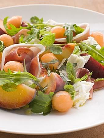 Σαλάτα με πεπόνι & προσούτο 11-1