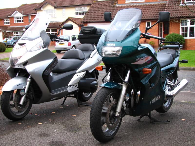 Comparison review Yamaha XJ 900 Diversion bike IMG_5894