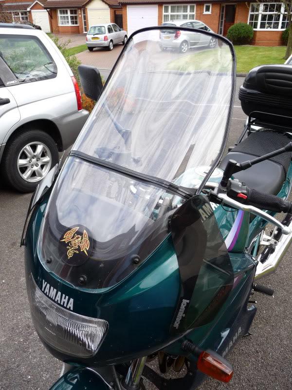 Aerodynamic draft excluder on a bike?!! MEMO0007