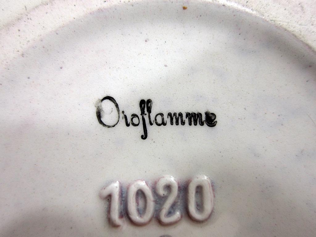 Help Identifying Pottery Bowl Please. BowlOroflammeStampCloseup