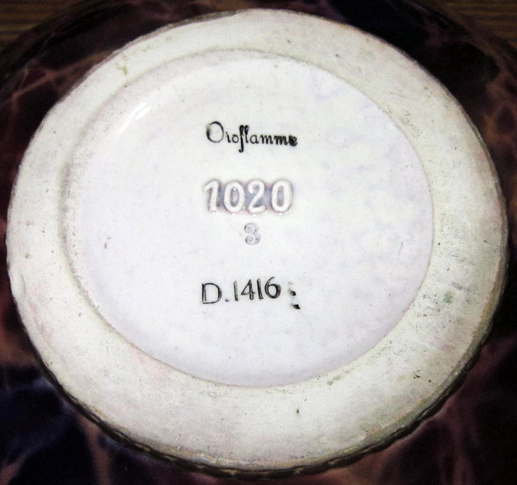 Help Identifying Pottery Bowl Please. BowlSignBottom