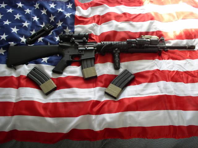Projet tenues USMC  M16A4