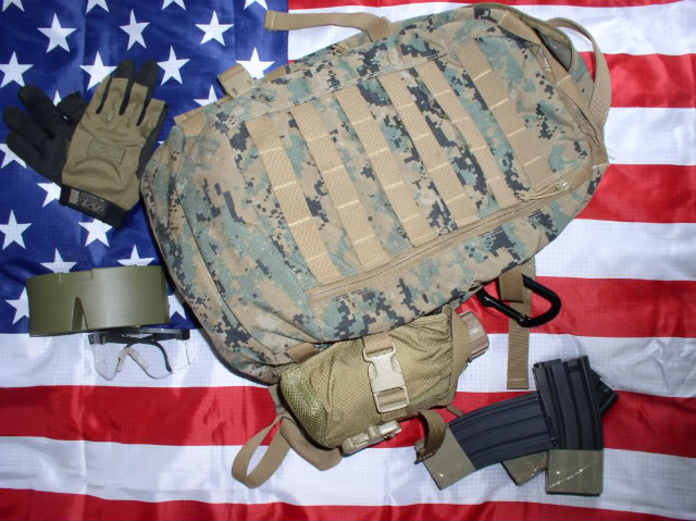 Projet tenues USMC  Assaultpack