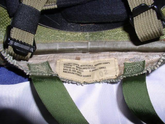 USMC LWH Gentex complet P1010006-3