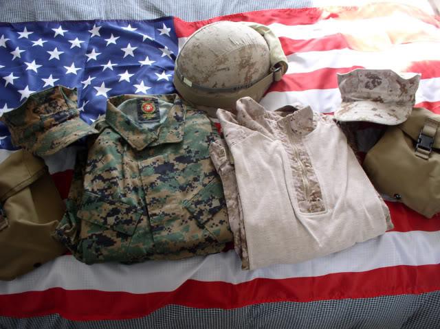 Projet tenues USMC  Tenuemarpat