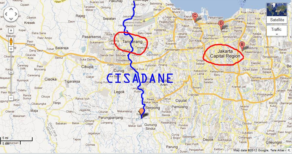 Ciliwung and Cisadane River, Indonesia in a Brink of Destruction CisadaneRiver