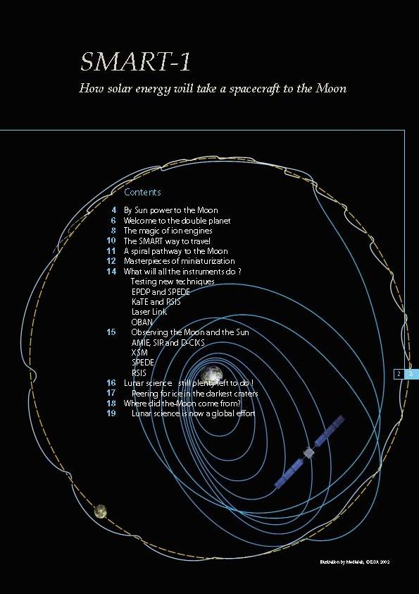 Construction de vaisseaux dans l'espace:c'est possible? SMART-1-ESA-Trail