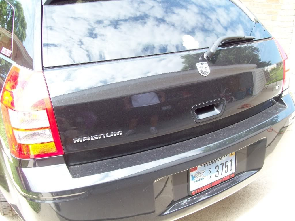 One BLACKED OUT the other THROWN OUT, Ram head emblem free mod PICS!!! Newmods060