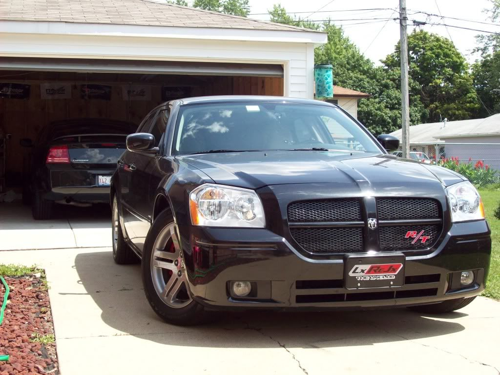 One BLACKED OUT the other THROWN OUT, Ram head emblem free mod PICS!!! Newmods063