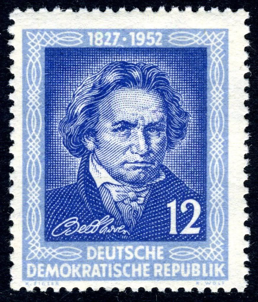Ludwig van Beethoven GermanyDDRMi300