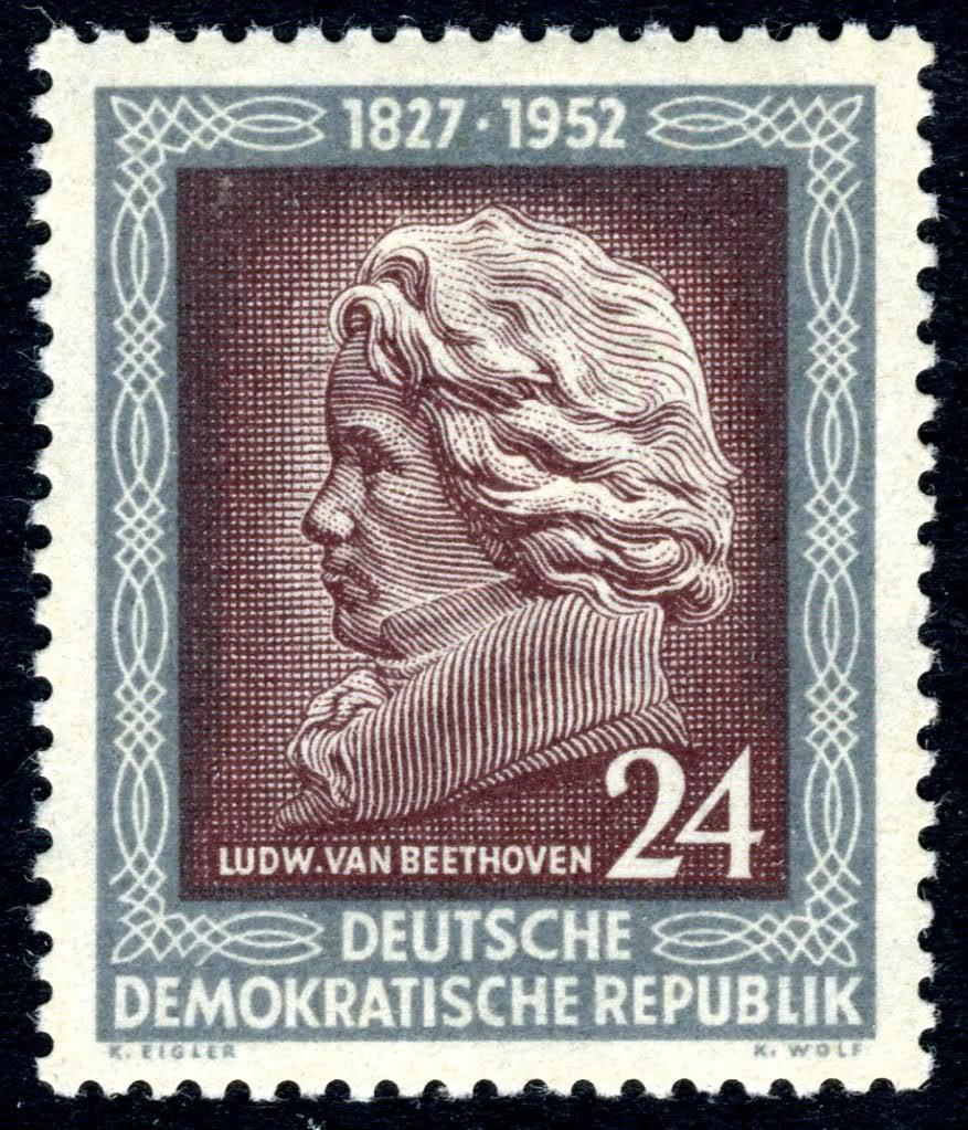 Ludwig van Beethoven GermanyDDRMi301