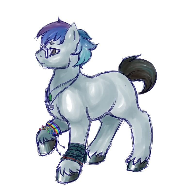 Draw yourself as a pony Syn014