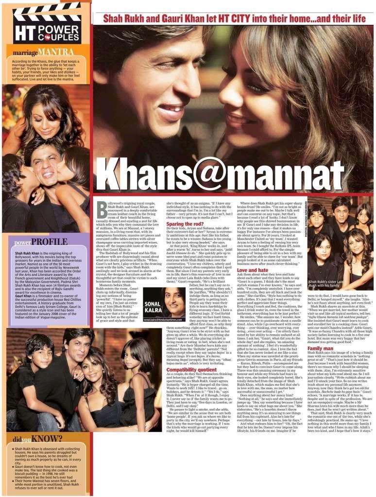 entrevista a khan en Mannat  FOTOS Htfamilyinterview_005
