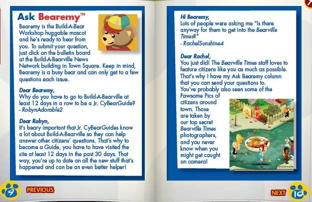 New Bearville Times Out! Updated! 6-1