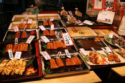 [Đời sống - Văn hóa] Chợ Nishiki - Kyoto Nishiki_market_yakizakana_29