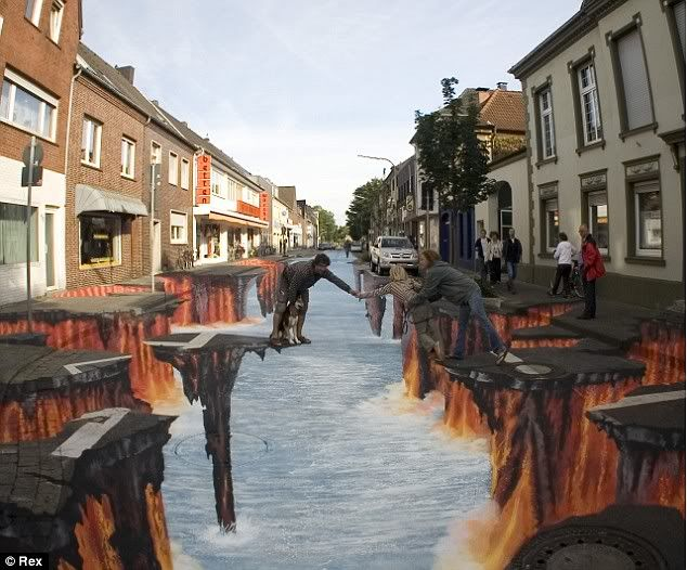 Would you drive down this road?... Roadpainting3