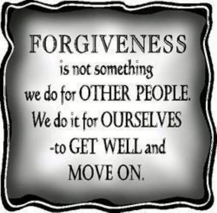 Function of resentment... Forgiveness-1