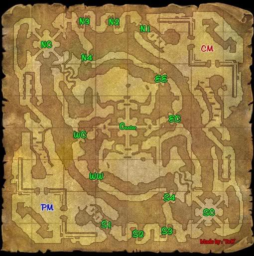 War Map and Teams During PW and NW NWMap