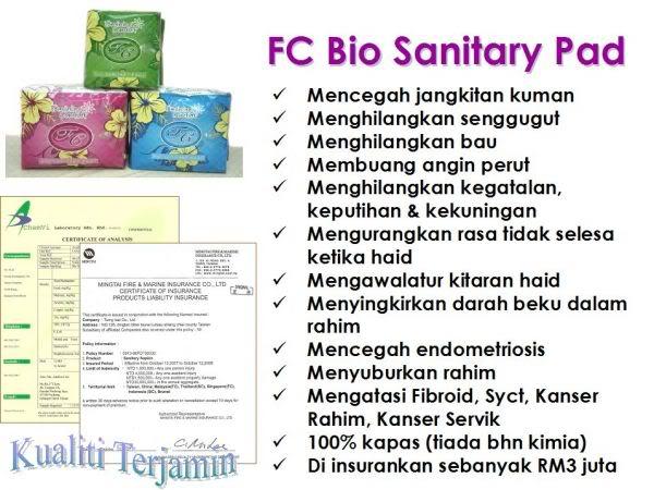 FC BIO SANITARY PAD 000k0516rzg