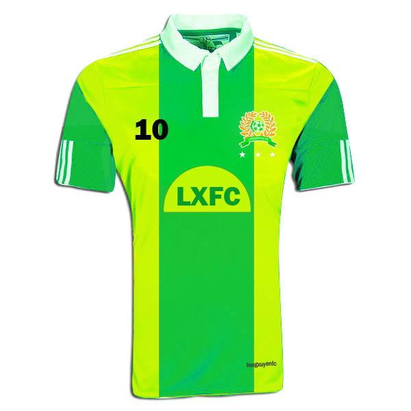 ĐỒNG PHỤC MỚI LXFC 2012 LXFC20123star