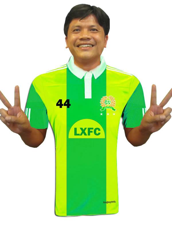ĐỒNG PHỤC MỚI LXFC 2012 LXFC2012BM