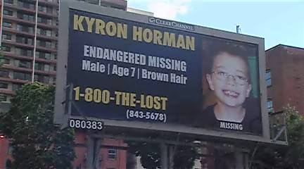 Thread #1 - Kyron Horman: Missing for 9 Months/ Desiree believes Kyron is dead/ Supporters put pressure on Terri - Page 2 Kyronbillboard