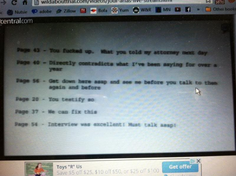 4-15-13 ~ ??? -Jodi Arias trial:32-yo accused of shooting her lover,Travis Alexander,in the face, stabbing him 29 times, & slitting his throat from ear to ear. DP is on the table. Arias claiming self defense/ Thread #6 - Page 20 Note_zpsa7bad85d