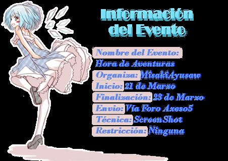 [AUD][AxFry][Multimedia] ♫ Hora de Aventuras ★ (21-23/03/13) ‹ By: Âyu Mîsa Info-evento1_zps7d46e313