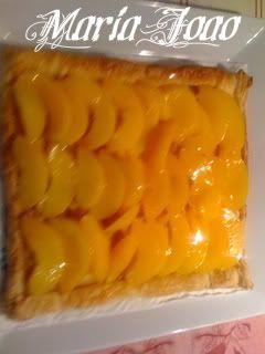 Folhado de natas com pêssego IMG_0063