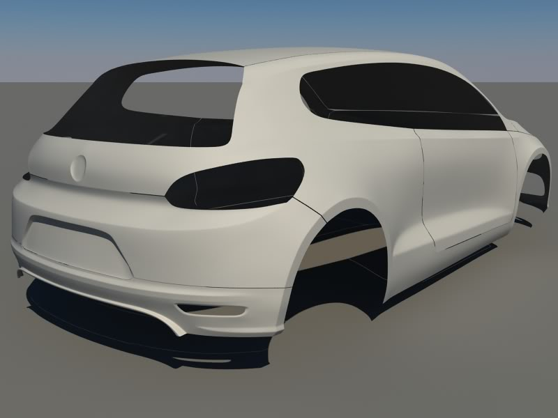 oettinger vw Scirocco Clayback