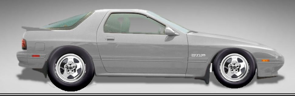 whitch wheels should I go with Rx7-with-telstars