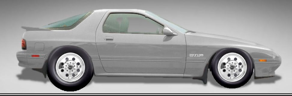 whitch wheels should I go with Rx7-with-welds
